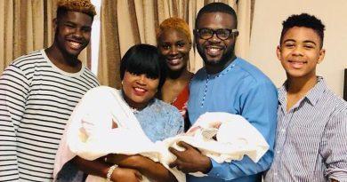 Funke Akindele reportedly had her twins through a surrogate.