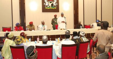 Only God will punish PDP for looting Nigeria - President Buhari claims
