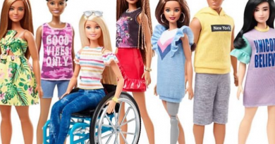 Barbie introduces dolls that uses wheelchairs and has prosthetic limbs