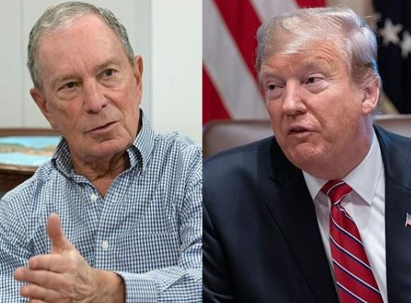 Billionaire Michael Bloomberg plans to spend at least $500 million from his own pocket to deny Donald Trump a second term