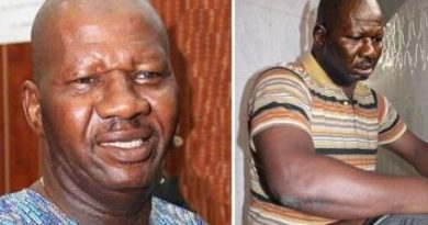 Veteran Nollywood actor and comedian, Baba Suwe health fails again pleads for help