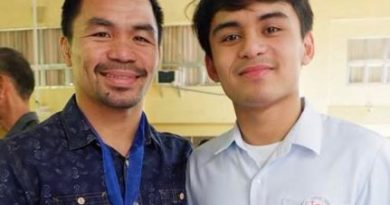 'Don't go into boxing' - Manny Pacquiao warns his 19-year old son