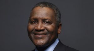 Dangote becomes 64th richest man in the world after he gained $5.8 billion in a day