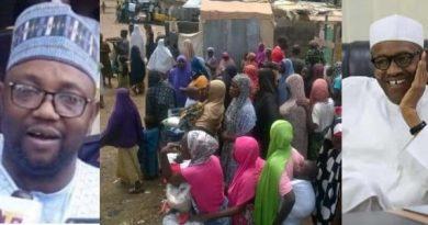 Governorship candidate Shinkafi ejects IDPs living in his houses for voting Buhari