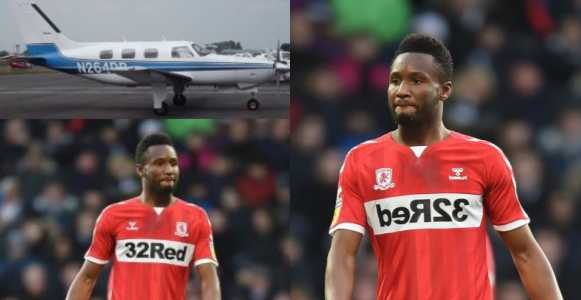 John Obi Mikel escapes plane crash with Middlesbrough player