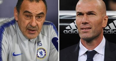 Zidane gives condition to take over as Chelsea boss from Sarri