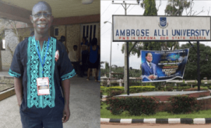 Chairman of ASUU Ambrose Alli chapter sues the University for N200million over false sex for marks allegation