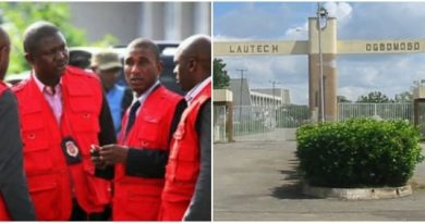 EFCC declares war on LAUTECH: The Home Of Cyber Crimes