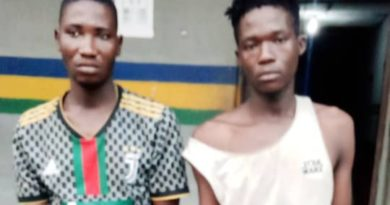 Lagos Police Pounce On Rail Tracks Vandals, Traffic Robbers, Arrest Suspects