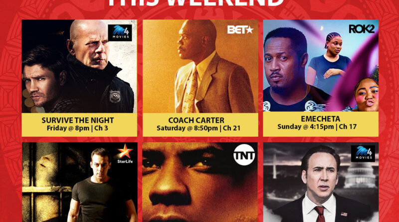 Six movies to watch on GOtv this weekend